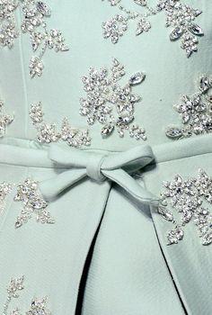 chiffonandribbons: Giambattista Valli Couture F/W 2013 Couture Details, Fashion Details, Looks Style, My Style, Color Menta, Lesage, Turquoise, Giambattista Valli, Tiffany Blue