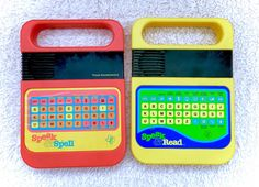 100% COMPLETE Texas Instruments Lot Of 2 Speak by CuteVintageToys
