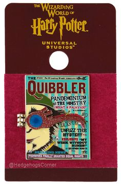 Wizarding World of Harry Potter Trading Pin Quibbler Spectrespects Glasses   eBay