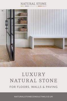 Natural Stone Consulting is a family business specialising in the supply of natural stone floors, wall tiles and paving. We have a comprehensive selection of modern, aged and antiqued flagstone floors suitable for modern, contemporary and traditional homes. Head over to the website to discover the flooring to inspire your interior design choices. #naturalstoneconsultancy #naturalstoneflooring #naturalstonefloors Luxury Interior, Interior And Exterior, Interior Design, Flagstone Flooring, Natural Stone Flooring, Traditional Homes, Paving Stones, Stone Tiles, Family Business