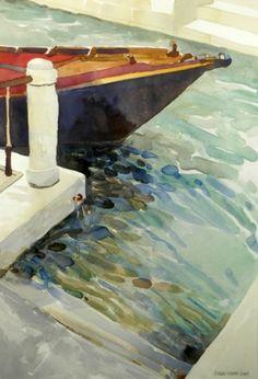 Robert Leedy   WATERCOLOR    Venice, Italy