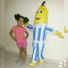 Piñatas, Bananas en pijamas
