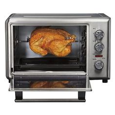 Hamilton Beach Model 31103 Countertop Oven With Convection And Rotisserie Functions