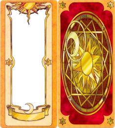 Blank cardcaptor sakura card