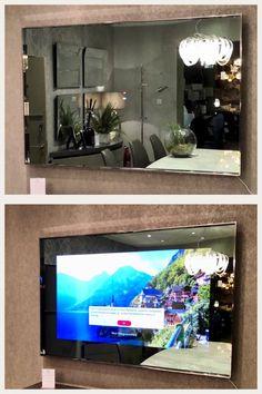 Nereus Mirror TV, 55 inch, Hidden TV