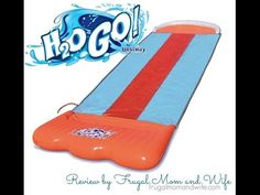 Frugal Mom and Wife: H2O-GO Triple Slider by Bestway Review!