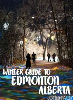 Winter, it turns out, might be a good time to visit Edmonton, Alberta. Here's a light guide to getting started. New Travel, Canada Travel, Winter Date Ideas, Travel Advice, Travel Ideas, Travel Tips, Travel Plan, Travel Inspiration, Canada Christmas