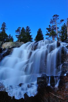 Eagle Falls is a short hike away from Eagle Lake in South Lake Tahoe, California. For more outdoor information, visit: http://visit-eldorado.com/