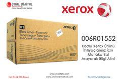 006R01552 Kodlu Xerox Ürünü İhtiyaçlarınız İçin Mutlaka Bizi Arayarak Bilgi Alın! www.unaldijital.com - www.unaltonermerkezi.com - www.orjinaltonercim.com Bilgi ve Sipariş İçin : 0534 958 88 66