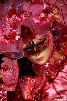Pink mask picture for: anything goes 2 photography contest - Pxleyes ...