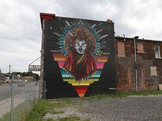 2015 - 35 must see murals in Detroit. Marka27 on El Asador Steakhouse, 1312 Springwells