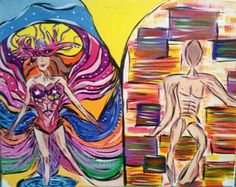 Carneval painting
