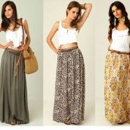 Maxi Skirt In Fashion- Style It Up