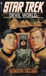 """Devil World (Star Trek)"" av Gordon Eklund World Star, Star Trek, Devil, Stars, Reading, Books, Movies, Movie Posters, Libros"