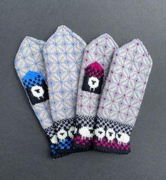 The herd. Knitting Mittens, Hand Knitting, Ravelry, Pattern, Fashion, Fingerless Mitts, Moda, Fashion Styles, Patterns