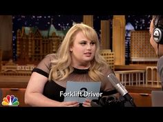 The Tonight Show Starring Jimmy Fallon: The Whisper Challenge with Rebel Wilson