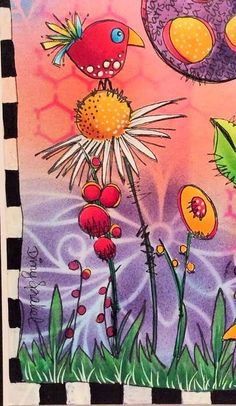 Here's An Idea for Your Next Doodle/Drawing Project. Here's An Idea for Your Next Doodle/Drawing Project. Here's An Idea for Your Next Doodle/Drawing Project. Doodle Drawings, Doodle Art, Bird Doodle, Art Journal Inspiration, Painting Inspiration, Journal Ideas, Drawing Projects, Art Projects, Art Fantaisiste