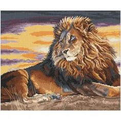 Morning stitchers , another busy week, let's get cracking! #crossstitch #needle #thread #relax #craft #home #lion #bigcat