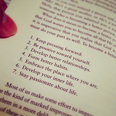 7 Perfect Rules.
