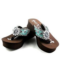 155a0487ac9d Gypsy Soule Womens Jasmin Embellished Flip Flops  299.95