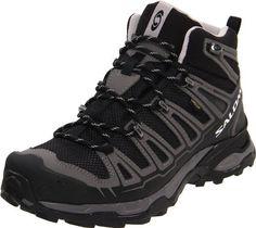 Salomon Women's X Ultra Mid GTX Hiking Boot Salomon. $157.67. ContaGrip Outsole. Textile. Rubber sole. Quicklace