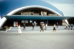 United nations pavilion. More @Atomium • Permanent exhibition [from Symbol to…