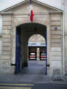 Firehouse in Paris