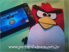 angry birds em feltro tablet - Pesquisa do Google