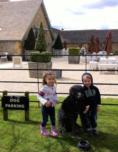 Here's where we park the kids when we go shopping in Daylesford..... just kidding, of course, the kids love shopping there too :) Read our page on all things Daylesford here: http://www.cotswoldsconcierge.co.uk/daylesford.htm