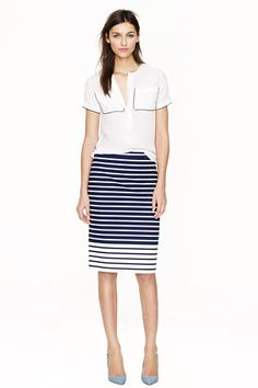 J.Crew's Sale Is The Ultimate Workday Pick-Me-Up #refinery29  http://www.refinery29.com/j-crew-sale#slide1  J.Crew No. 2 Pencil Skirt, $88.50 (originally $118), available at J.Crew.