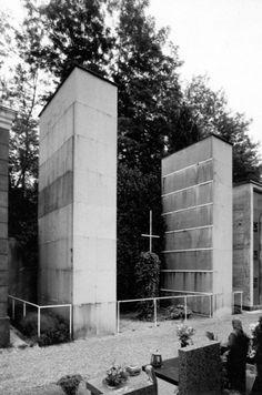 mario asnago e claudio vender - cappella funeraria marelli, cimitero di cantù, como, 1936