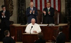 (Photo: Kevin Lemarque/Reuters)   In his historic address Thursday, Pope Francis became the first pontiff to appear before a joint session of Congress. He may also be the first person ever to deliver