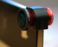 Lens for an iPhone...nice