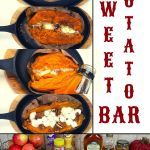 Pork Recipes, Crockpot Recipes, Best Baked Sweet Potato, Holiday Recipes, Dinner Recipes, Sweet Potato Toppings, Potato Bar, One Dish Dinners, Recipe Boards