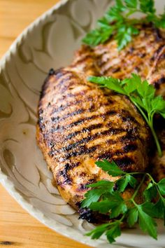 Island Chicken Marinade with Garlic, Dark Brown Sugar, Cinnamon, Cayenne, and Ground Cloves.  Recipe for marinade makes about 2 1/2 cups and can be frozen in 3/4 cup portions.