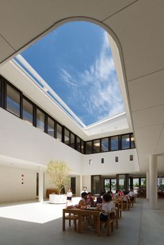 Gallery - D1 Kindergarten and Nursery / HIBINOSEKKEI + Youji no Shiro - 14