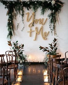 metallic wedding inspiration at Gather Tailor warehouse West Melbourne wedding backdrop Wedding Ceremony Decorations, Wedding Themes, Wedding Bells, Wedding Flowers, Ceremony Backdrop, Backdrop Ideas, Wedding Backdrops, Wedding Venues, Wedding Greenery