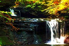 Landscape Photography  Waterfalls  Ricketts by MattTolkPhotography, $30.00