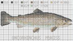 J'explique: Barbara des Croix était à la recherche d'une truite pour son Papounet.. J'avais tous les poissons possibles et impossibles dans mes archives mais pas de truite... Une image à l'appui et un peu de temps devant moi, voici ce que j'ai fait En...