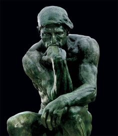 Auguste Rodin - The Thinker (1880)