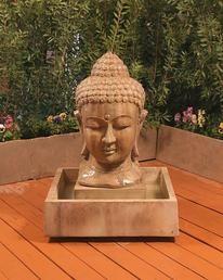 Buddha Head Water Fountain