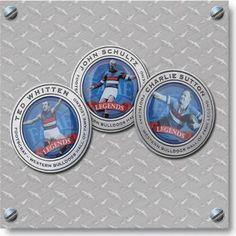 Western Bulldogs Hall of Fame Legends Medallion $19.95