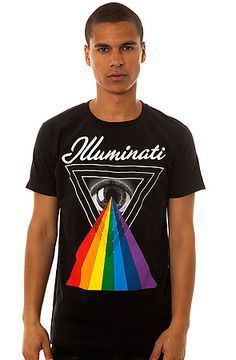 Freshjive The Illuminati Tee in Black