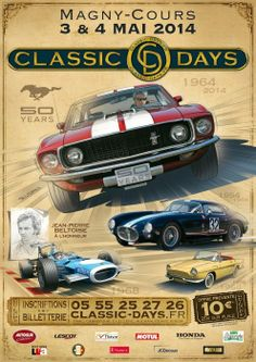 Classic Days, Magny-Cours (58470), Bourgogne