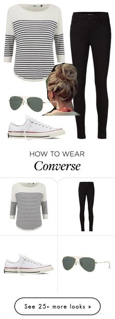"""""""Daniel Sharman inspired"""" by nuria-bremer on Polyvore featuring ONLY, J Brand, Converse, women's clothing, women, female, woman, misses and juniors"""