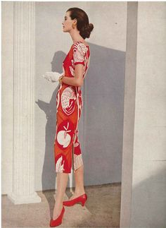 February Vogue 1951 by Horst P Horst