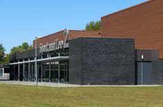 Sport aan Zee 2, Den Helder    Architect: Vaessen architecten en ingenieurs Product: Frequence 18/76-13HB Coating: Authentic Cuppra 5216