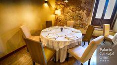 Restaurante del Hotel Palacio Carvajal Girón en Plasencia