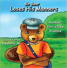 Bo Bear doesn't believe in practicing good manners. while knocks things over ..click link..