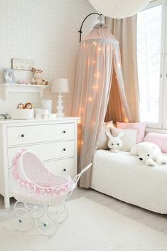 Little girls bedroom Kids Bedroom Furniture, Bedroom Decor, Teenage Room, Kids Room Design, Little Girl Rooms, Kid Spaces, Kid Beds, Kids Decor, Girls Bedroom